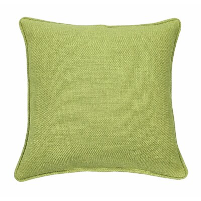 Loft Throw Pillow Color: Apple - Green