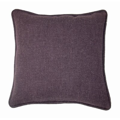 Loft Throw Pillow Color: Eggplant