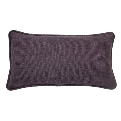 Loft Lumbar Pillow Color: Eggplant