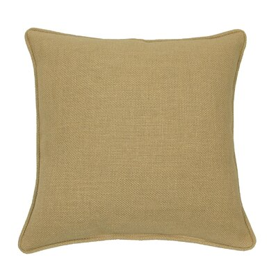 Loft Throw Pillow Color: Sand