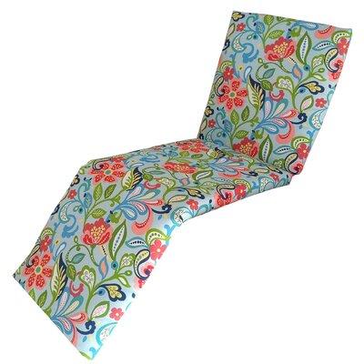 Wildwood Outdoor Chaise Cushion Fabric: Opal