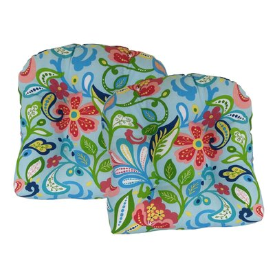 Wildwood Outdoor Dining Chair Cushion Fabric: Opal