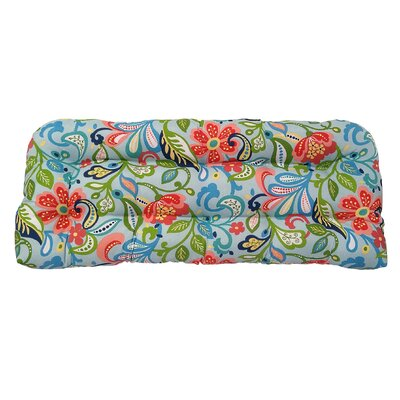Wildwood Outdoor Bench Cushion Fabric: Opal