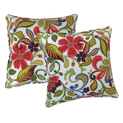 Wildwood Throw Pillow Color: Garden