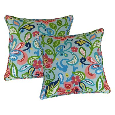 Wildwood Throw Pillow Color: Opal