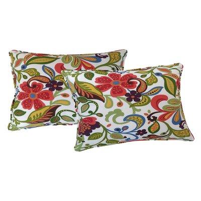 Wildwood Lumbar Pillow Color: Garden