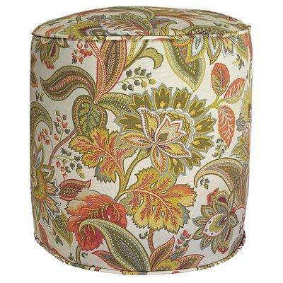 Valbella Outdoor Pouf Ottoman Fabric: Fiesta
