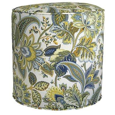 Valbella Outdoor Pouf Ottoman Fabric: Provence