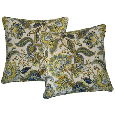 Valbella Outdoor Throw Pillow Color: Provence