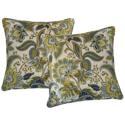 Valbella Outdoor Throw Pillow Color: Provence