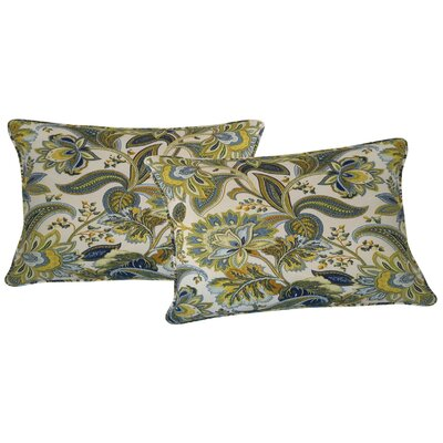 Valbella Outdoor Lumbar Pillow Color: Provence