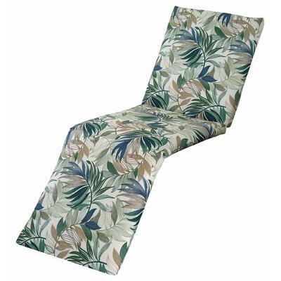 Emmi Chaise Lounge Cushion Fabric: Chambray