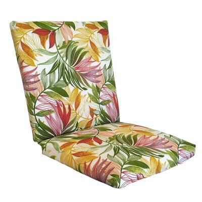 Emmi Lounge Chair Cushion Fabric: Garden