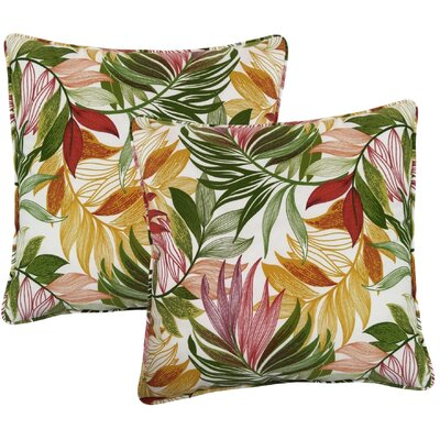 Arin Indoor/Outdoor Throw Pillow Color: Garden