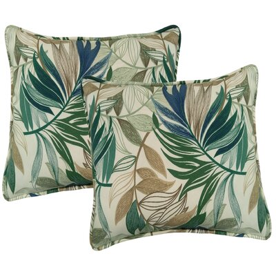 Arin Indoor/Outdoor Throw Pillow Color: Chambray