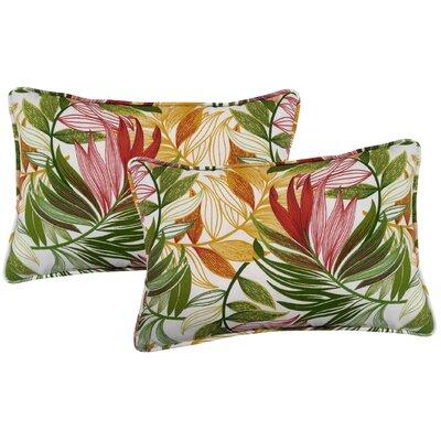 Arin Indoor/Outdoor Lumbar Pillow Color: Garden