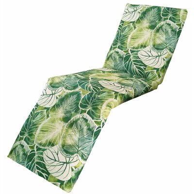 Elyssa Chaise Lounge Cushion Fabric: Lagoon