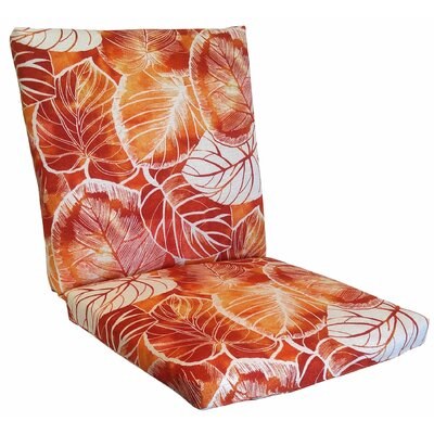 Elyssa Lounge Chair Cushion Fabric: Cayenne