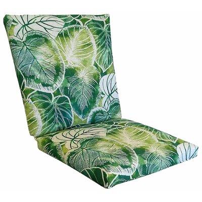 Elyssa Lounge Chair Cushion Fabric: Lagoon