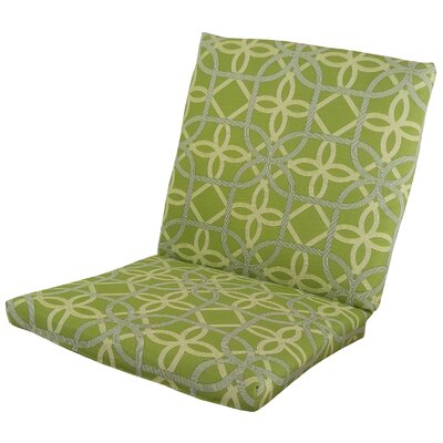 Ravensdale Outdoor Lounge Chair Cushion Fabric: Kiwi