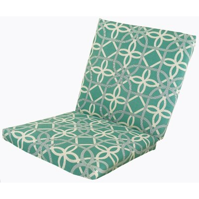 Ravensdale Outdoor Lounge Chair Cushion Fabric: Pool