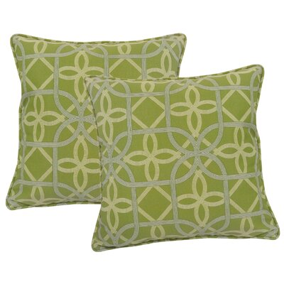 Marissa Indoor/Outdoor Throw Pillow Color: Kiwi