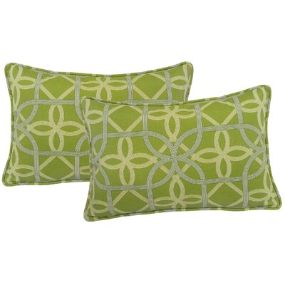 Ravensdale Indoor/Outdoor Lumbar Pillow Color: Kiwi