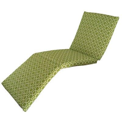 Odele Outdoor Chaise Lounge Cushion Fabric: Kiwi