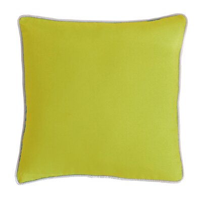 Outdoor Dining Chair Cushion Fabric: Citron