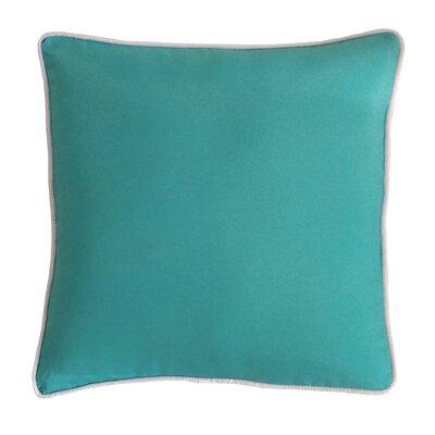 Outdoor Dining Chair Cushion Fabric: Aqua