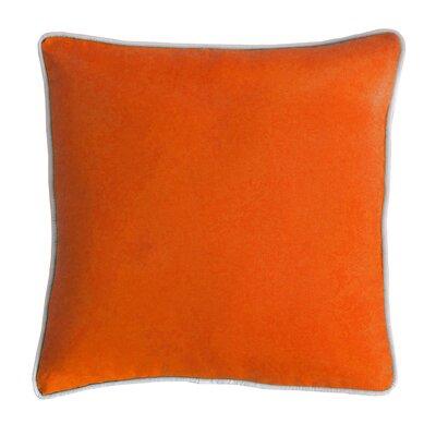 Outdoor Dining Chair Cushion Fabric: Pumpkin
