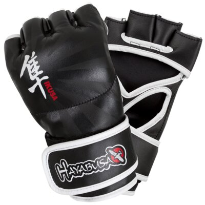 Rent to own Ikusa MMA Gloves Color: Black, Size...