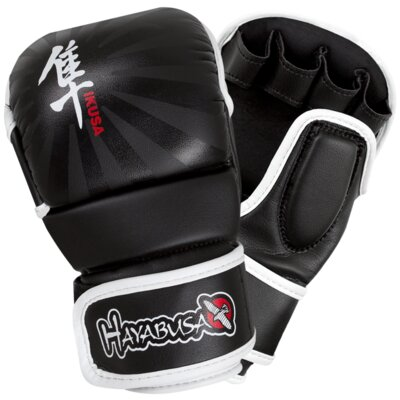 Credit for Ikusa MMA Gloves Color: Black, Size...