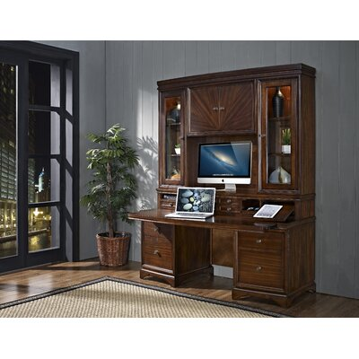 iQuest Furniture Madison Credenza Desk with Hutch at Sears.com