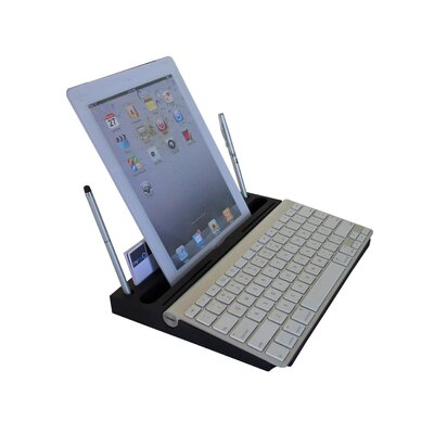 0.8 H x 13 W Desk Keyboard Platform Color: Black