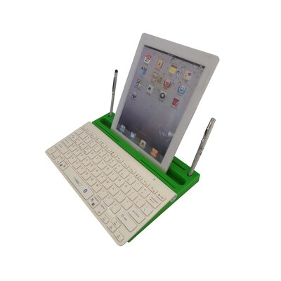 0.8 H x 13 W Desk Keyboard Platform Finish: Green