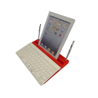 0.8 H x 13 W Desk Keyboard Platform Color: Red