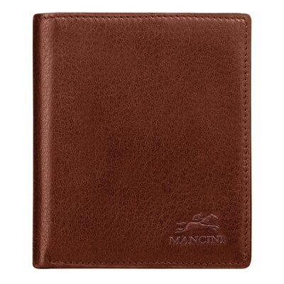Mancini San Diego Men's Hipster Wallet - Color: Cognac at Sears.com