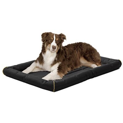 "Quiet Time Maxx Ultra-Rugged Dog Mat Size: Extra Large (48"" L x 31"" W), Color: Black"