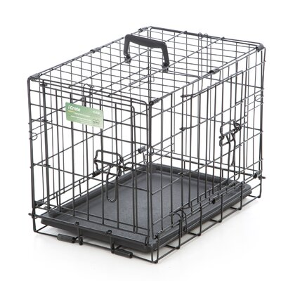 iCrate Double Door Pet Crate Size: XX Small (14 H x 12 W x 18 L)