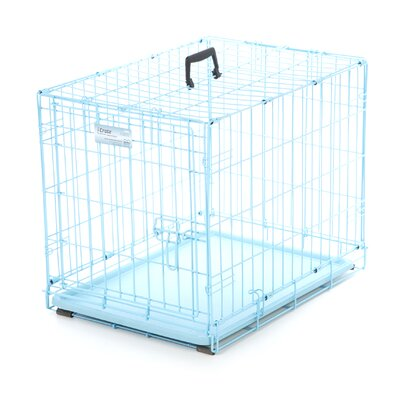 iCrate Fashion Edition Pet Crate Color: Blue