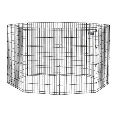 Exercise Pet Pen Size: Large (42 H x 24 W)