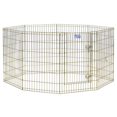 Exercise Dog Pen Size: Medium (36 H x 24 W)