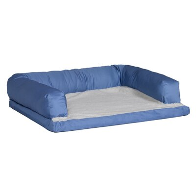Quiet Time eSensuals Orthopedic Sofa Dog Furniture Style Size: Extra Large (54 L x 36 W), Color: Light Blue
