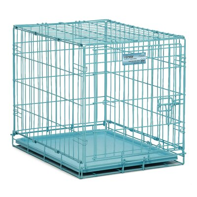 Anya iCrate Fashion Edition Pet Crate Color: Blue