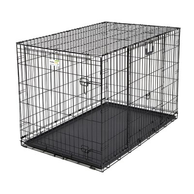 Ovation Trainer Double Door Pet Crate Size: 48