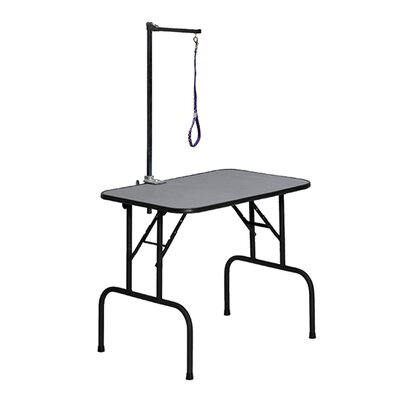 Grooming Table with Arm Size: 36