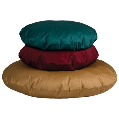 Quiet Time eSensuals Round Dog Pillow Size: Medium (34 L x 34 W), Color: Tan