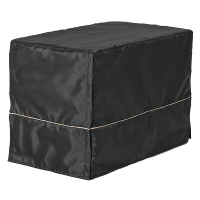 Hennings Quiet Time Dog Crate Cover Depth: 22