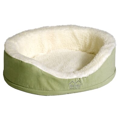 Quiet Time eSensuals Orthopedic Bolster Pet Bed Size: X-Small (17.5 W x 14.5 D), Color: Sage Green